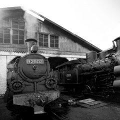 Lokomotif B2502- Museum Kereta Api Ambarawa