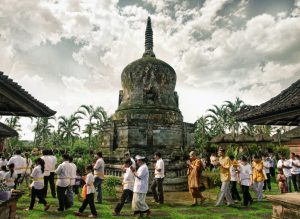 pradaksina stupa pura pegulingan