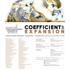 3rd Jakarta Contemporary Ceramic Biennale, 23 Sept-13 Okt 2014