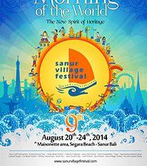 Sanur Festival 2014, Tanggal 20 – 24  Agustus, Bergembira dan beraktivitas bersama