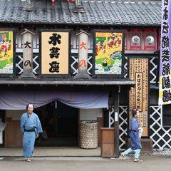 Tergelincir dalam perjalanan waktu ke jaman samurai. EDO WONDERLAND, Nikko Edomura