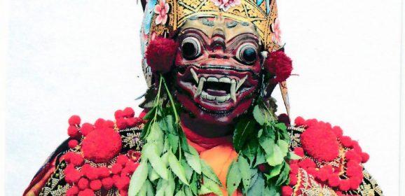 """Epic of Ramayana Main Character – UNESCO Intangible cultural heritage """" Wayang Wong from Tejakula """""""
