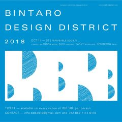 BINTARO DESIGN DISTRICT 2018, PERMEABLE SOCIETY, 11-20 OCT 2018