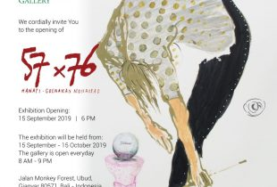 57 x 76, a collaboration between Hanafi and Goenawan Mohamad (GM)