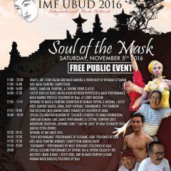 Festival Topeng Internasional, Ubud 2016