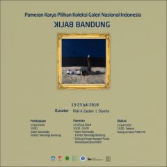 Pameran karya-karya pilihan koleksi Galeri Nasional Indonesia di Bandung